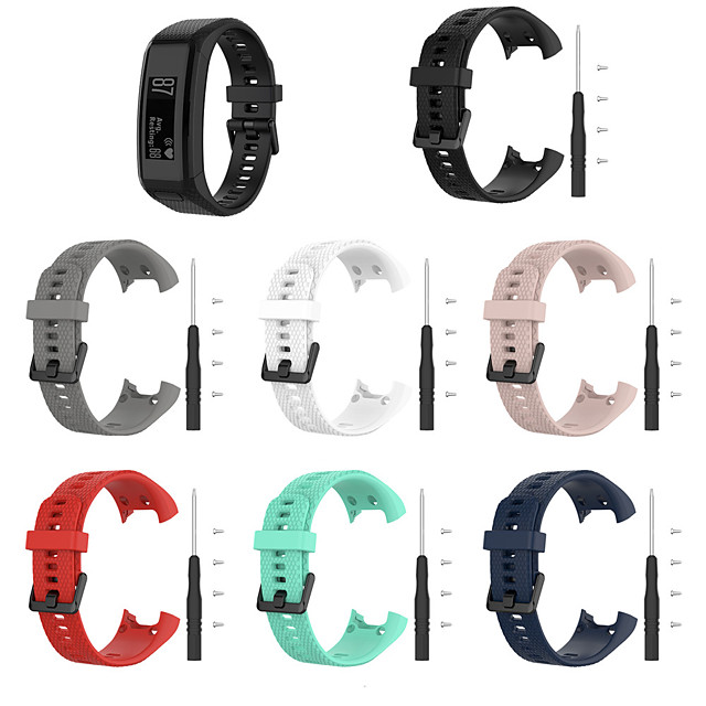 Ремешок для часов для Vivosmart HR Garmin Спортивный ремешок силиконовый Повязка на запястье