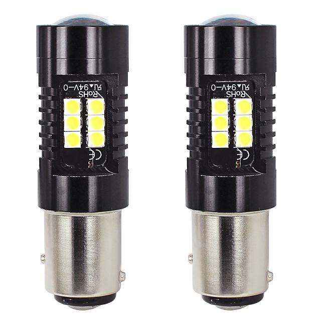 otolampara 2 unités clignotant à LED 1157 21w faisceau de modèle d'éclairage spot ampoule led de voiture bay15d 1/1 ampoule halogène OEM taille 50000hrs durée de vie plug and play installation facile