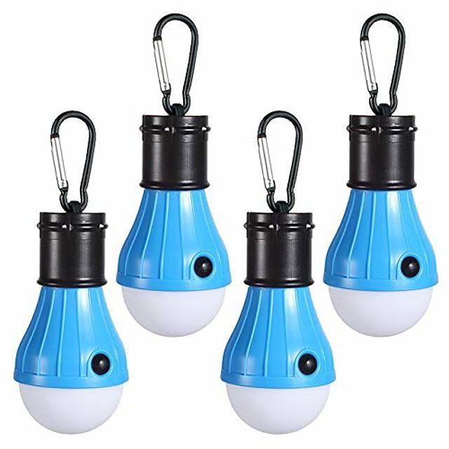 lumière de camping à LED, [4 modes] lanterne de tente de camping à LED portable pour la randonnée d'urgence en cas d'ouragan, panne de pêche, panne de tempête, lampe de tente extérieure alimentée par