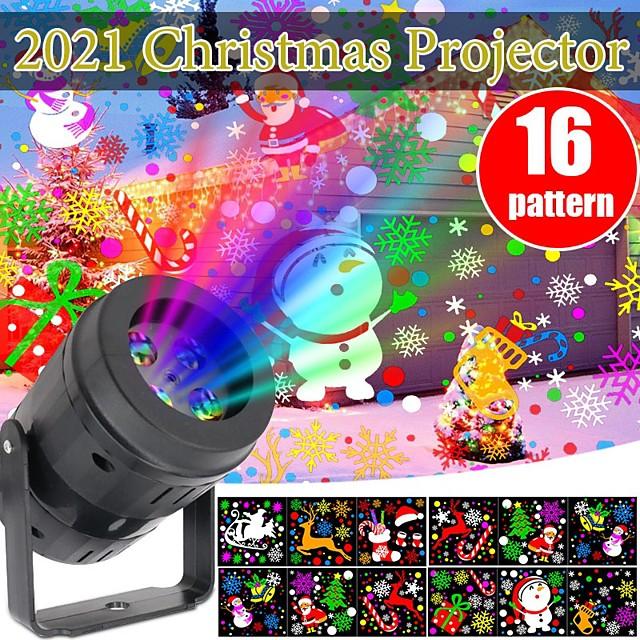 CH6 Projecteur étanche Projecteur LED rotatif Soirée Mariage Cadeau Plusieurs Couleurs