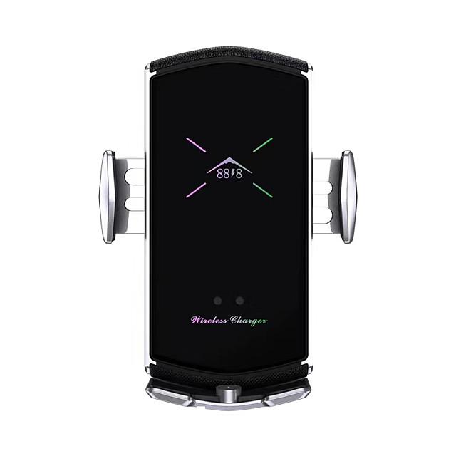 автомобильное зарядное устройство e6 с магнитной присоской, многофункциональная подставка для телефона, умное беспроводное быстрое зарядное устройство для всех мобильных телефонов