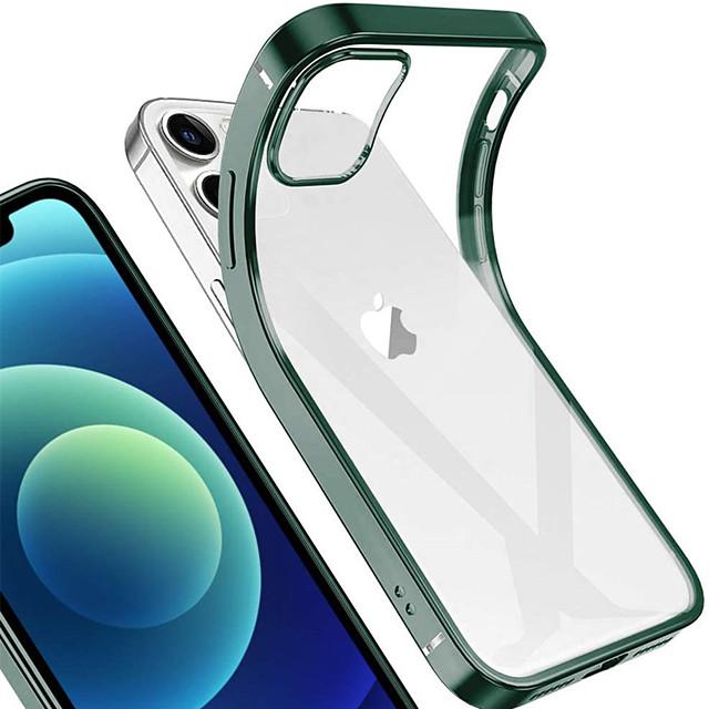 чехол для apple iphone 12 mini 12 12pro 12pro max гальванический ультратонкий гель из тпу чехол для телефона для iphone 11 11pro 11pro max x xs xr xs max se 2020