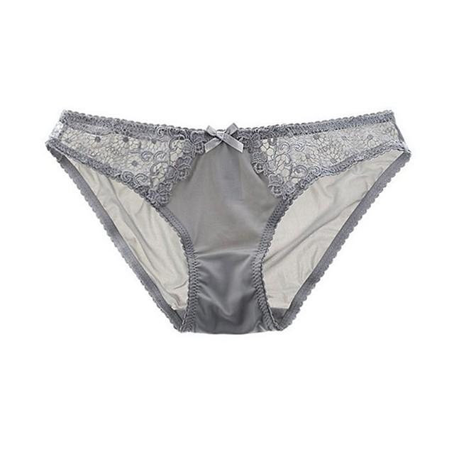 Dames 1 Stuk Standaard Onderbroeken - Normaal Lage Taille Wit Zwart blauw S M L