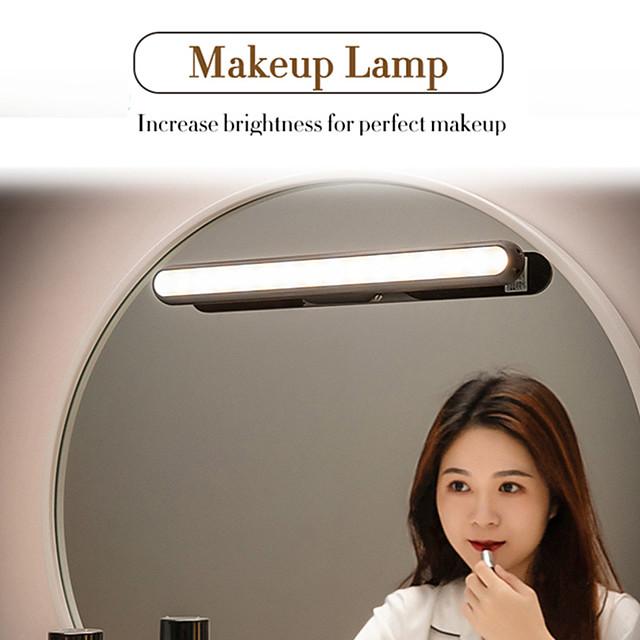 lampe de table suspension magnétique lampe led rechargeable& lampe de bureau avec protection oculaire sans gradation veilleuses