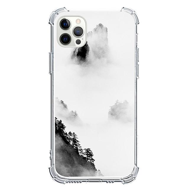 استايل صيني قضية إلى عن على Apple آيفون 12 اي فون 11 آيفون 12 برو ماكس تصميم فريد حالة وقائية ضد الصدمات غطاء خلفي TPU