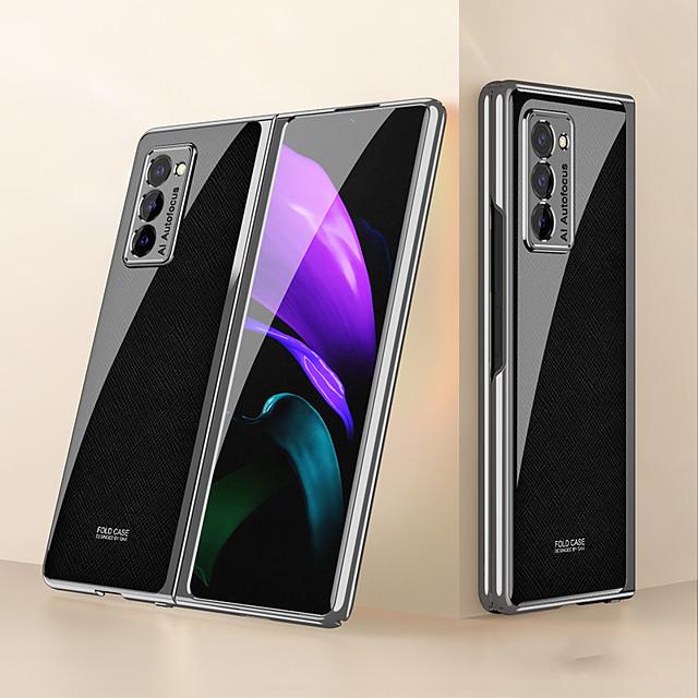 telefono Custodia Per Samsung Galaxy Per retro Galaxy Z Fold 2 Resistente agli urti A prova di sporco Con onde Frasi famose PC