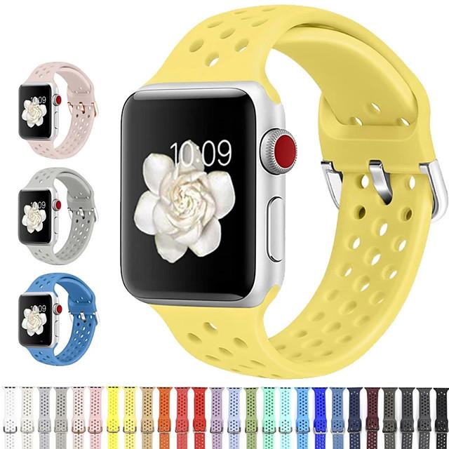 حزام إلى Apple Watch Series 6 / SE / 5/4 44 ملم / Apple Watch Series 6 / SE / 5/4 40mm Apple عصابة الرياضة سيليكون شريط المعصم