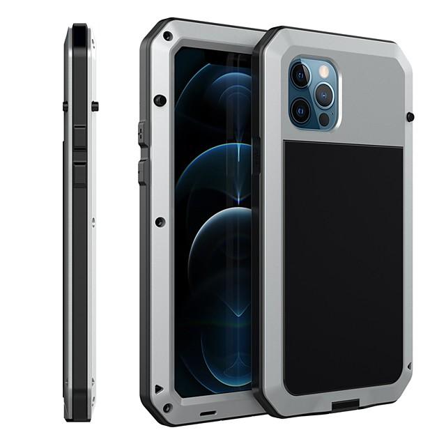 Lovemei алюминиевый металлический чехол для iphone 12 pro max противоударный экстремальный гибридный полный корпус военный прочный сверхмощный двухслойный винтовой бампер для apple iphone 12 pro max