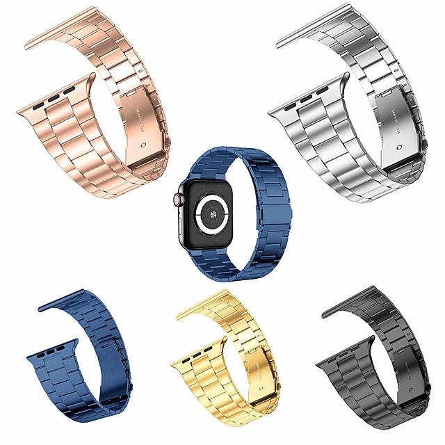 ультратонкий ремешок для часов Apple Watch 6 5 4 3 2 1 ремешок 44 мм 40 мм без зазоров деловые ремешки из нержавеющей стали iwatch 38 мм 42 мм тонкий браслет