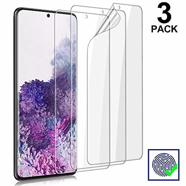 téléphone Protection Ecran Pour Samsung Film d'hydrogel S21 S21 Plus S21 Ultra S20 Plus S20 Ultra Anti-Rayures Accessoire de Téléphone