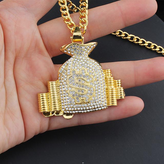 Pánské Chlapecké Náhrdelník Moderní Slitina Zlatá 75 cm Náhrdelníky Šperky 1ks Pro Dar narozeninová oslava