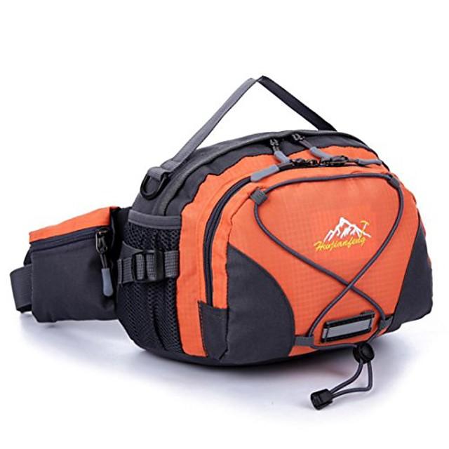- borsa sportiva, cintura da corsa impermeabile marsupio marsupio marsupio da campeggio sport escursionismo borsa a tracolla (arancione)