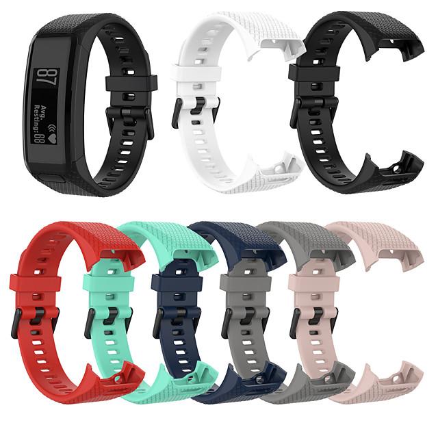 Klokkerem til Vivosmart HR Garmin Sportsrem / Klassisk spenne Silikon Håndleddsrem