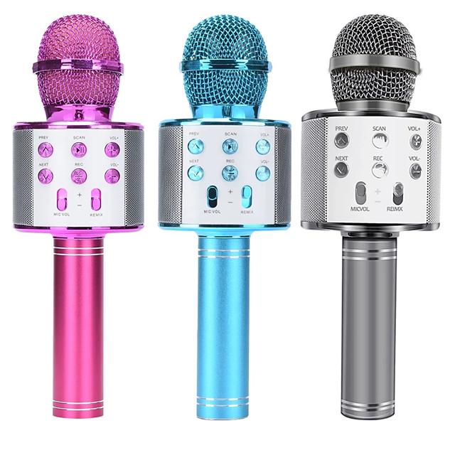 microfono integrato microfono portatile bluetooth karaoke microfono wireless professionale altoparlante home ktv microfono palmare