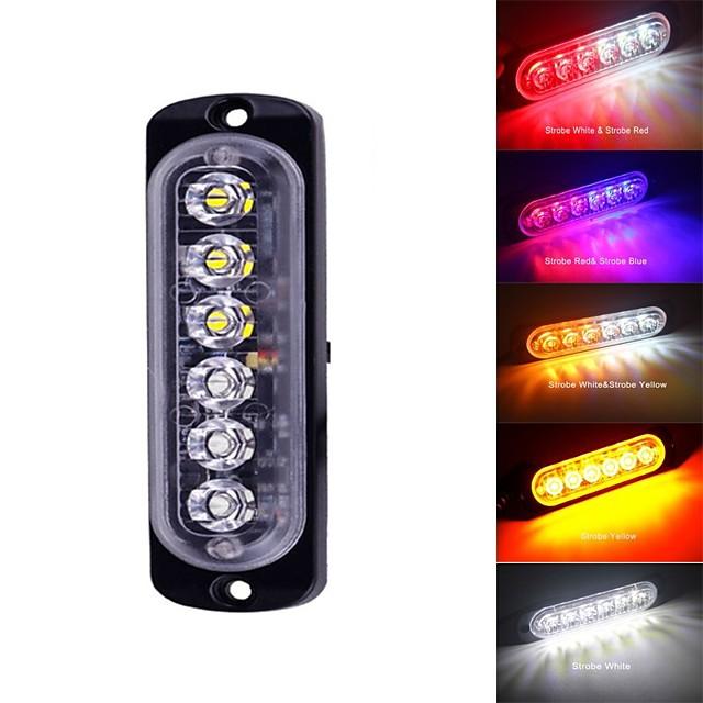 Bară de lumină cu ștafete flash de urgență vehicul de avertizare strobă intermitent albastru roșu alb galben galben