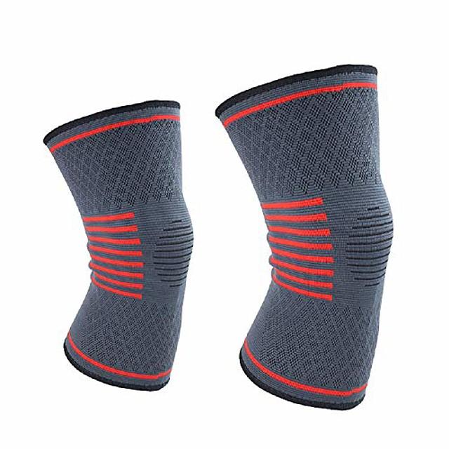 knie ondersteuning compressie mouwen kniebeschermer kniebrace artritis kniegewrichtspijn vorm vasthouden 2 pack-l