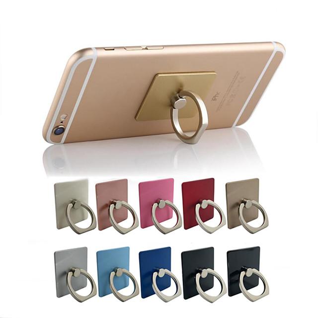 10本指輪携帯電話ホルダースタンド電話用グリップサポートアクセサリーセルマウント混合色