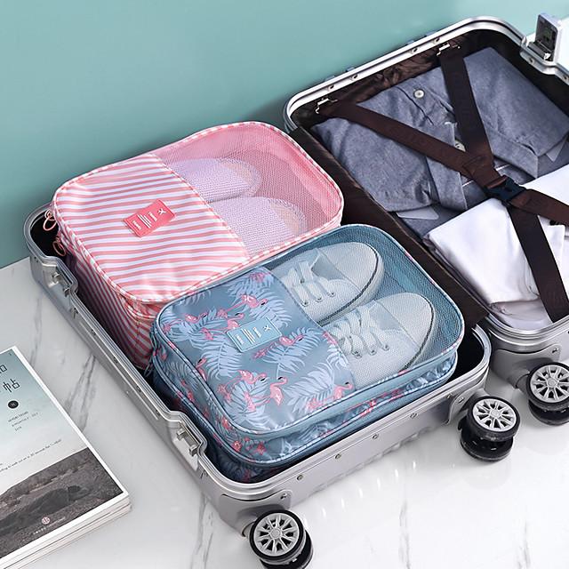 1 قطعة حقيبة الجوارب الأحذية للماء مريحة السفر تخزين النايلون المحمولة حقيبة منظم حقائب الفرز متعددة الوظائف