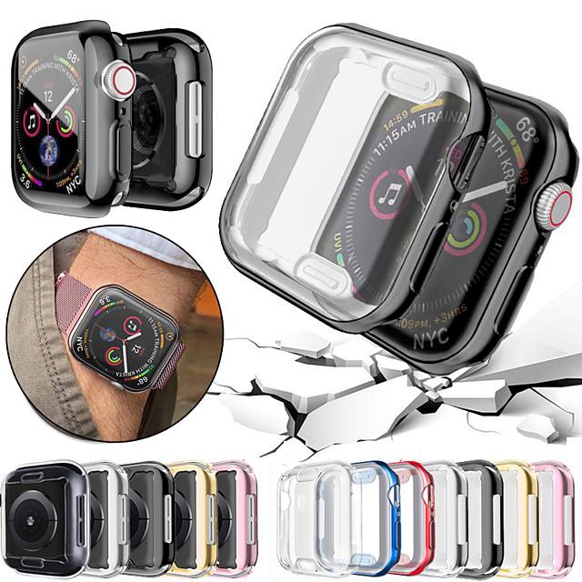 1 pezzi Orologio intelligente Proteggi Schermo Per Apple  iWatch Apple Watch Serie 6 / SE / 5/4 44 mm Apple Watch Serie  6 / SE / 5/4 40mm Apple Watch Serie  3/2/1 38 mm TPU Alta definizione (HD)