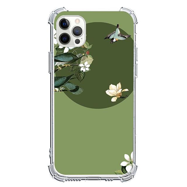 Kinesisk stil Fall För Apple iPhone 12 iPhone 11 iPhone 12 Pro Max Unik design Skyddsfodral Stötsäker Skal TPU