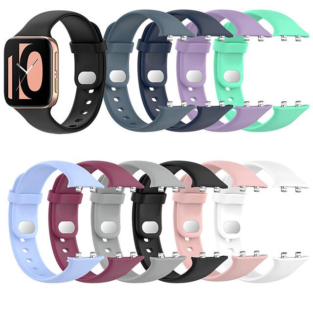 mekana silikonska traka za sat za oppo sat 41mm 46mm traka za sat šarena narukvica sportska traka