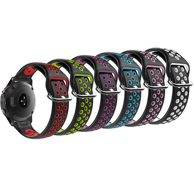 Bracelet de Montre  pour Fenix 5s / Fenix 5S Plus Garmin Bracelet Sport Silikon Sangle de Poignet