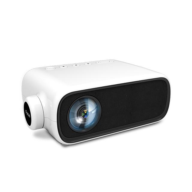 yg280 mini projektor przenośny projektor wideo 1080p obsługiwany lcd led projektor kina domowego kompatybilny z hdmi usb av o żywotności lampy 50000 godzin