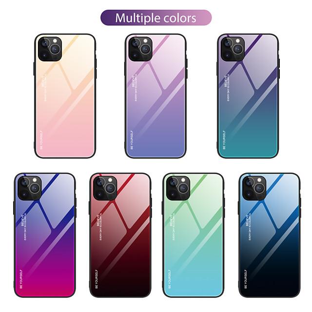 Θήκη Za Apple iPhone XR / iPhone XS Max / iPhone 6s Plus Otporno na trešnju Stražnja maska Prijelaz boje TPU