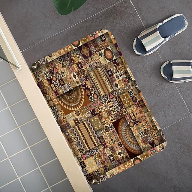 Bohemian etnische stijl patroon tapijt deurmat slaapkamer woonkamer tapijt studeerkamer tapijt keuken badkamer antislip mat