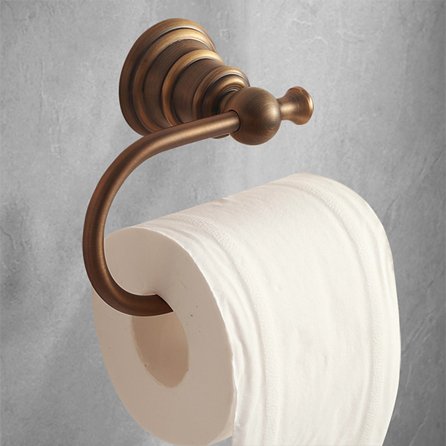 Porte-papier toilette Antique Laiton 1 pièce - Bain d'hôtel
