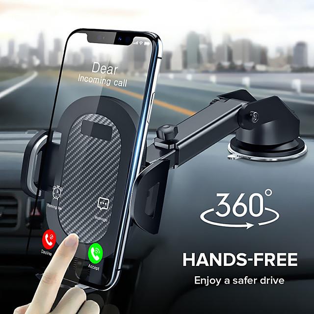360回転吸盤電話カーホルダースケーラブルガラスデスクカーモバイルホルダースタンド大画面スマートフォンgpsオートブラケット