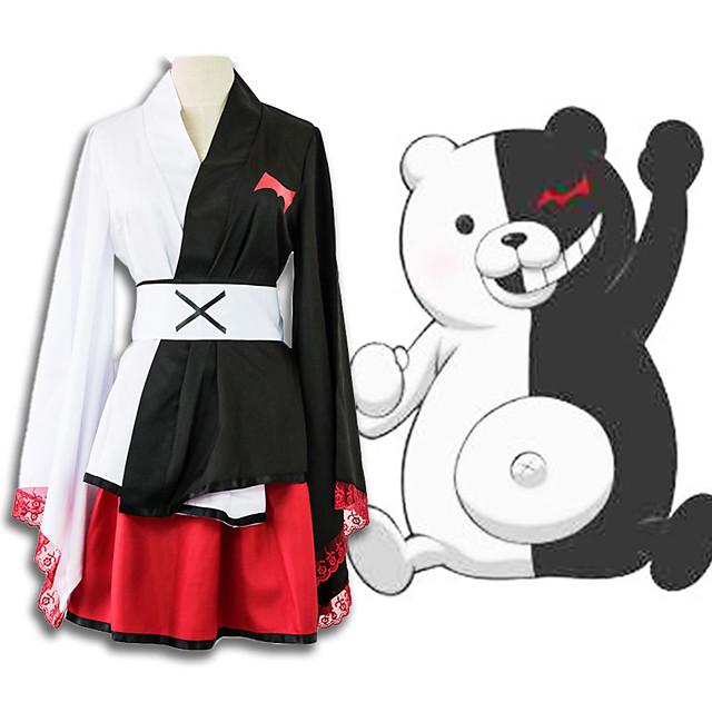 קיבל השראה מ Dangan Ronpa Toujou Kirumi אנימה תחפושות קוספליי Japanese חליפות קוספליי עליון חצאית חגורה עבור בגדי ריקוד גברים בגדי ריקוד נשים