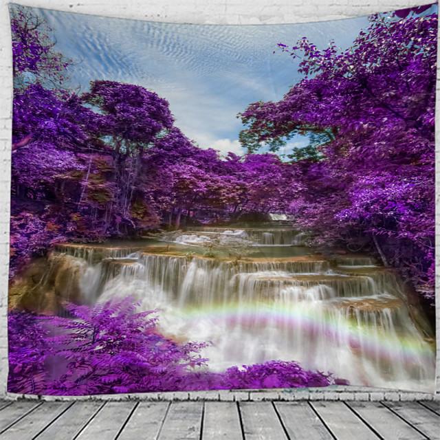 mooie en spectaculaire waterval landschap patroon wandtapijt muur opknoping wandtapijt wandtapijt wall art wanddecoratie wandtapijt wanddecoratie
