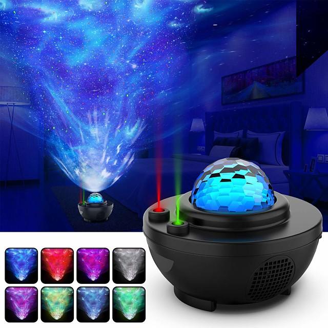 Star Galaxy Proiettore di Luce Luce del proiettore Controllato da remoto Proiettore di luce stellare Telecomando Feste Matrimonio Regalo Luce fredda
