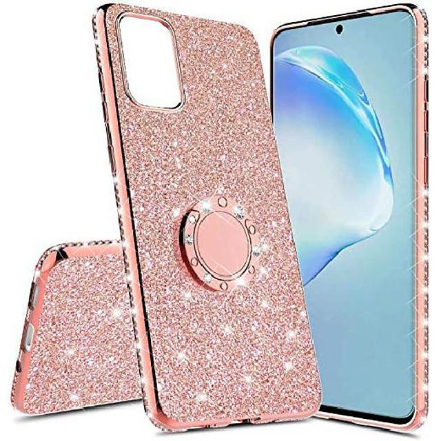 telefoon hoesje Voor Samsung Galaxy S20 S20 Plus S20 ultra S10 S10 + Schokbestendig Strass Glitterglans
