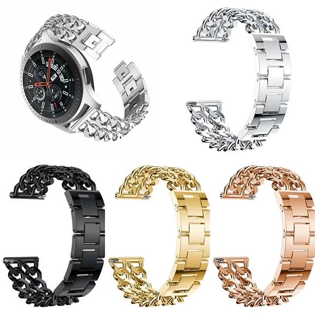 Watch Band na Samsung Galaxy Watch 46 / Samsung Galaxy Watch 42 / Samsung Galaxy Active Samsung Nowoczesna klamra Stal nierdzewna Opaska na nadgarstek