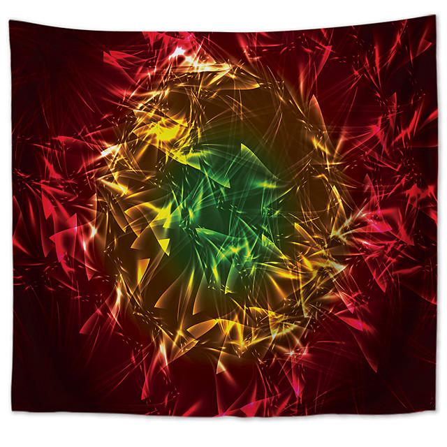 mandala bohemien wandtapijten kunst decor deken gordijn picknick tafelkleed opknoping thuis slaapkamer woonkamer slaapzaal decoratie polyester magisch driekleurig interlaced visuele impact