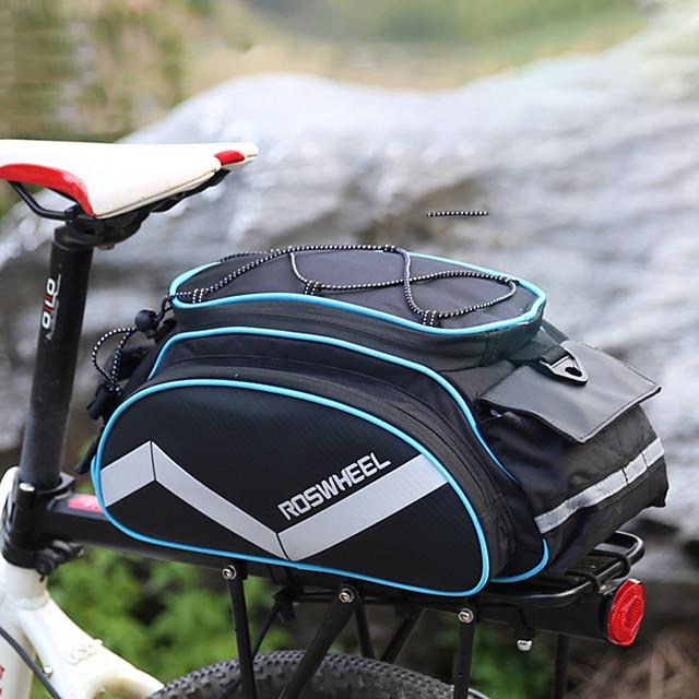 sacs de vélo sacoches de support de vélo pack de vélo accessoires sac de fret de vélo sac de bagages de vélo sac à bandoulière sac à main sac de sport de voyage en plein air | Bande réfléchissante 3