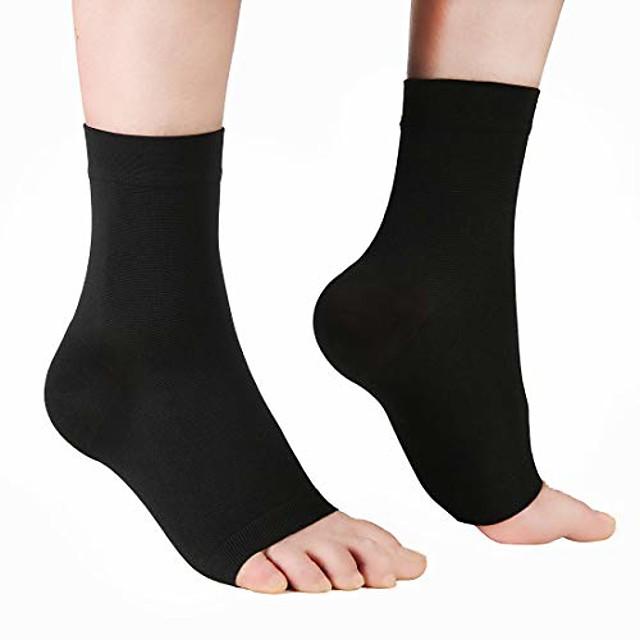 compressie-voetsokken voor heren& vrouwen - sokken plantaire fasciitis voor herstel van blessures, ondersteuning van de voetboog, pijnverlichting, voet& gezwollen enkels, hielspoor,