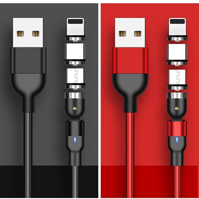 USB C Cavi Alta velocità Carica rapida Trasmissione dati 3 A 1.0m (3 piedi) PVC Per Xiaomi MI Samsung Xiaomi Appendini per cellulare