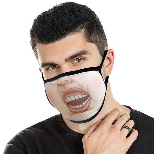 10 kom anime maske otporne na prašinu smiješno ukrašavanje nova kreativna ličnost smiješne tople maske s emotikonima