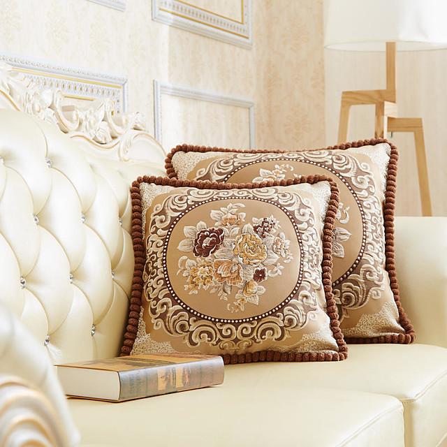 kussenhoes europese stijl paleis retro stijl precisie jacquard hoge kwaliteit kussensloop hoes woonkamer slaapkamer sofa kussenhoes