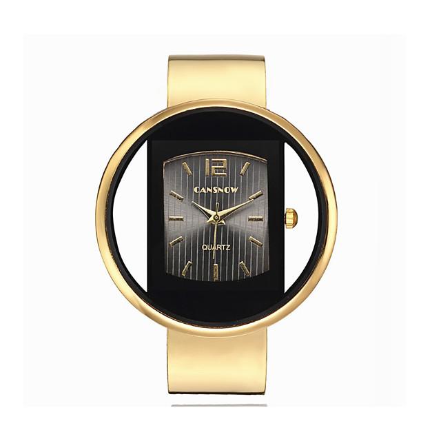 Damen Quartz Uhr Quartz Stilvoll Modisch bezaubernd Analog Braun + Golden Golden + schwarz Weiß + Gold / Ein Jahr