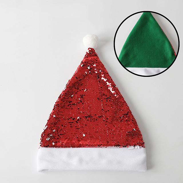 julenissen Maskerade Herre Voksne Kostymefest Jul Jul Tøy Hatt / Dame