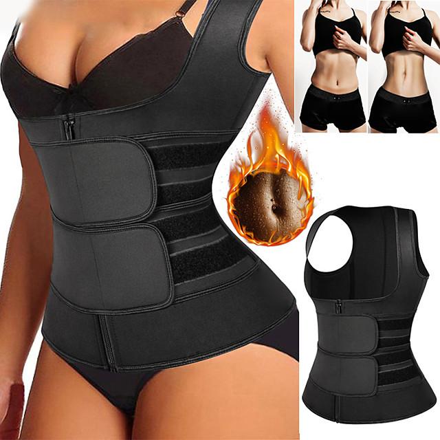Vesta Talie pt Antrenament Body Shaper Corset Talie pt Antrenament Sport Spandex Yoga Gimnastică antrenament Pilates Ajustabil Pierdere în greutate Tummy Fat Burner Pantalon Atractiv Pentru Bărbați
