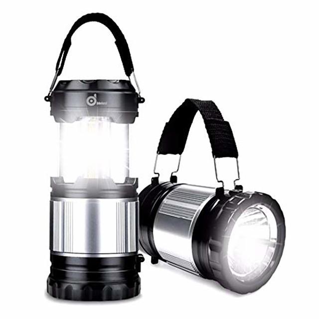 Lanterne portable led lampe lumière camping en plein air lumières lampe de poche rechargeable torche pour camping randonnée tente nous plug