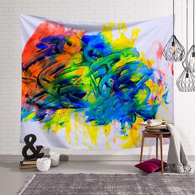 wandtapijt art deco deken gordijn picknicktafel doek opknoping thuis slaapkamer woonkamer slaapzaal decoratie polyestervezel nieuwigheid modern olieverf kleur verf