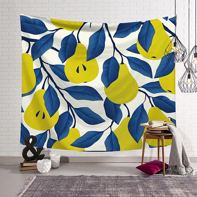 Wandtapijten art decor deken gordijn opknoping thuis slaapkamer woonkamer decoratie polyester plant peer patroon