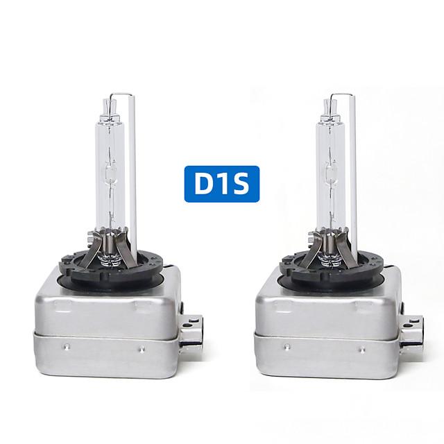 2pcs ampoules cachées xénon phare antibrouillard D1s phare lumière 6000K 35W ampoule de remplacement de phare de voiture
