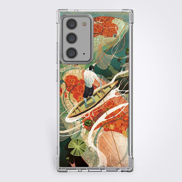 Çin Tarzı Durum İçin Samsung S20 Plus S20 Ultra S20 Eşsiz tasarım Koruyucu Kılıf Şoka Dayanıklı Arka Kapak TPU